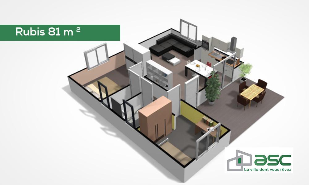 Rubis 81 m2
