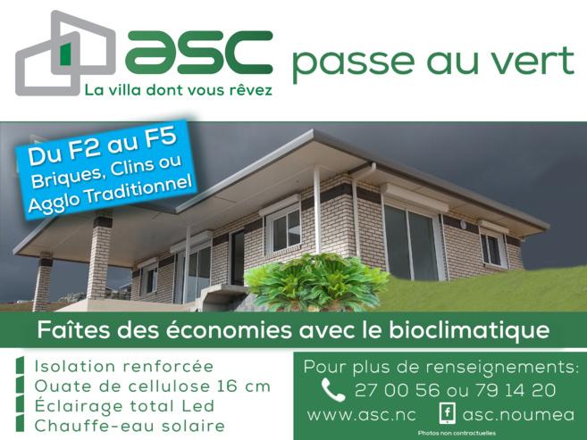 ASC passe au vert
