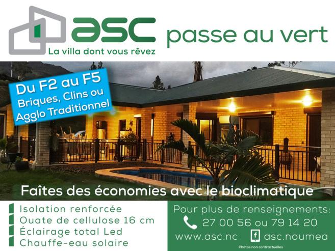 ASC passe au vert !
