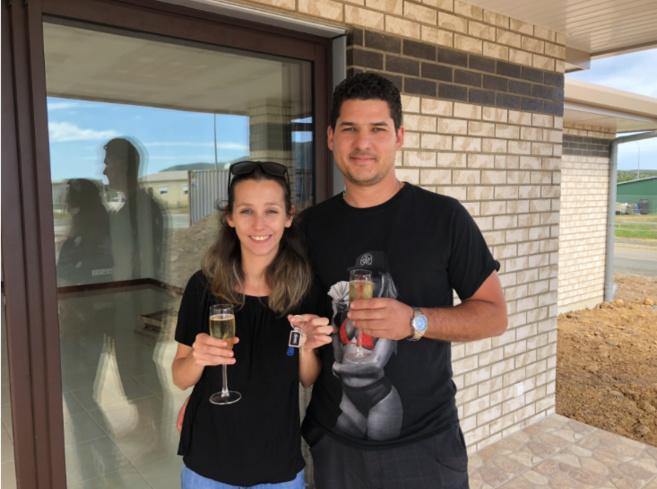 Champagne pour cette réception sur Arboréa !