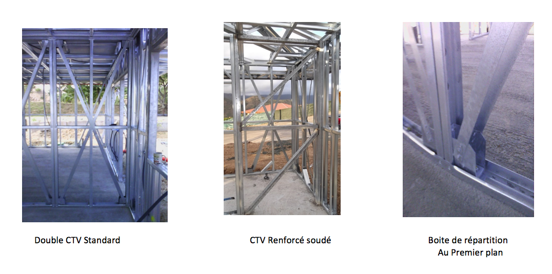 Précisions sur le système de construction BMS90 et la mise aux normes européennes Eurocode III