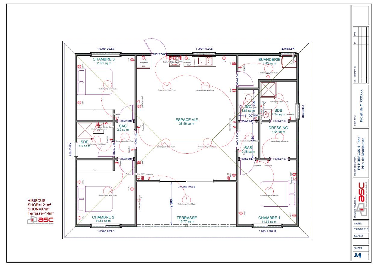 Hibiscus 121 m2