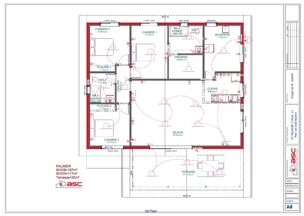 Palmier 167 m2