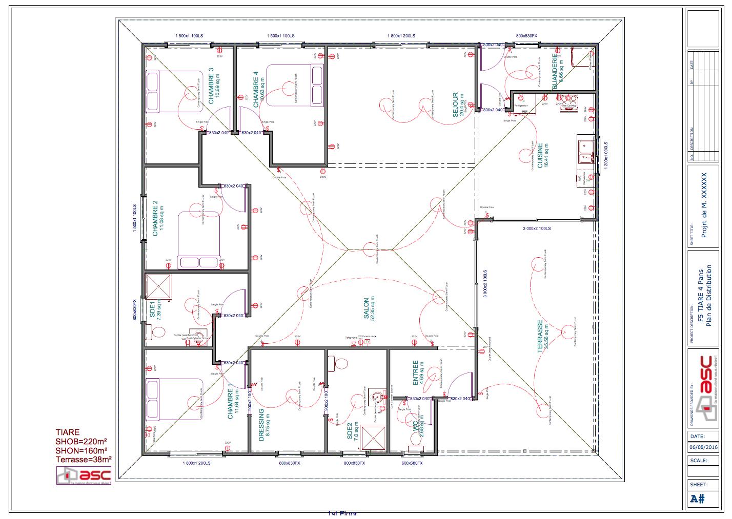 Tiare 220 m2