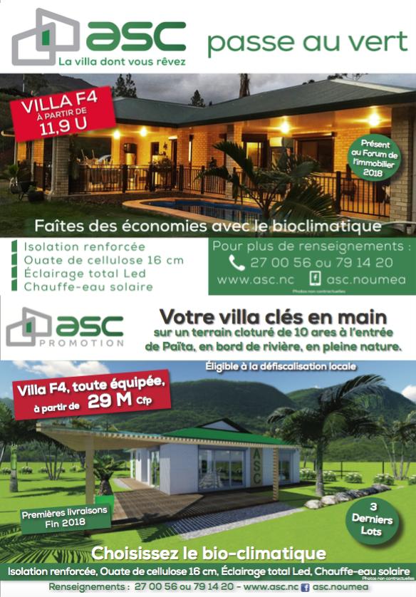 Retrouvez ASC sur le Forum de l'immobilier du 27 au 29  juillet