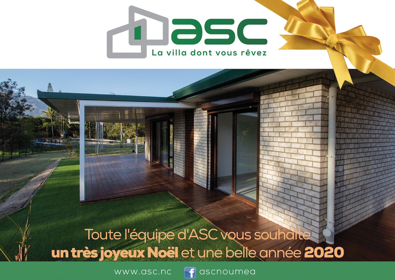 ASC vous souhaite une excellente année 2020 !