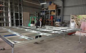 BMS : la fabrication de la structure métallique