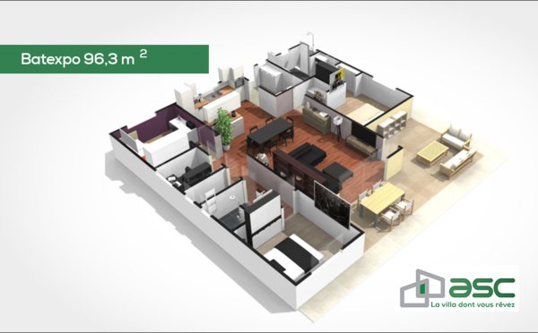Batexpo 96,3 m2